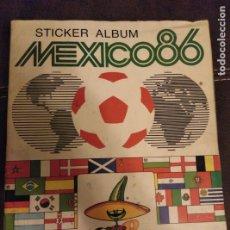 Coleccionismo deportivo: ÁLBUM MÉXICO 86 PANINI MUY COMPLETO FALTAN 34 CROMOS. Lote 182766342