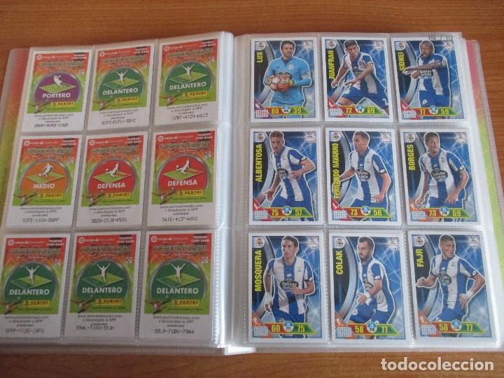 Coleccionismo deportivo: ALBUM DE CROMOS DE FUTBOL ADRENALYN XL TEMPORADA 2016/17 (BASTANTE COMPLETO CON 575 CROMOS) - Foto 14 - 182855247