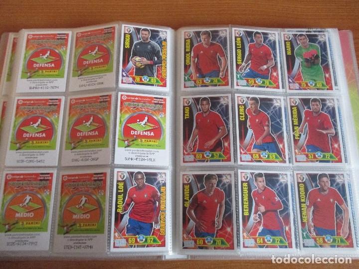 Coleccionismo deportivo: ALBUM DE CROMOS DE FUTBOL ADRENALYN XL TEMPORADA 2016/17 (BASTANTE COMPLETO CON 575 CROMOS) - Foto 31 - 182855247