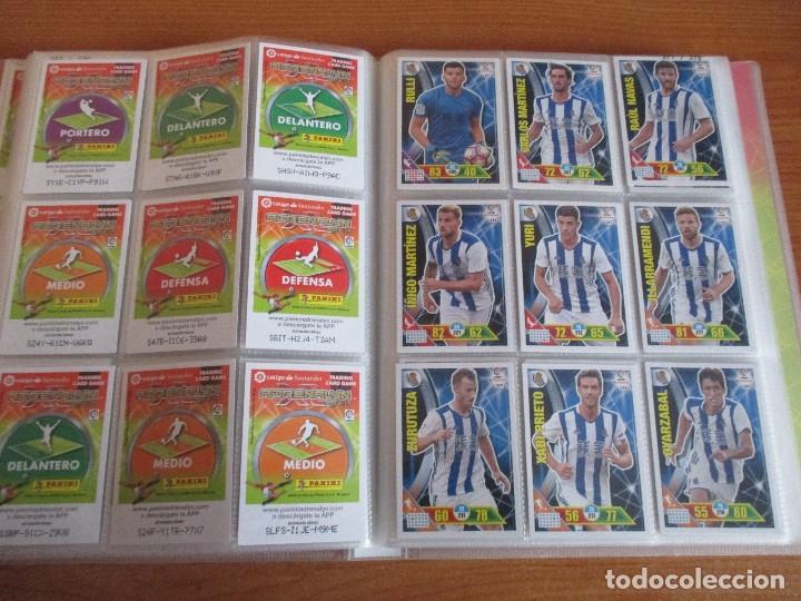 Coleccionismo deportivo: ALBUM DE CROMOS DE FUTBOL ADRENALYN XL TEMPORADA 2016/17 (BASTANTE COMPLETO CON 575 CROMOS) - Foto 32 - 182855247
