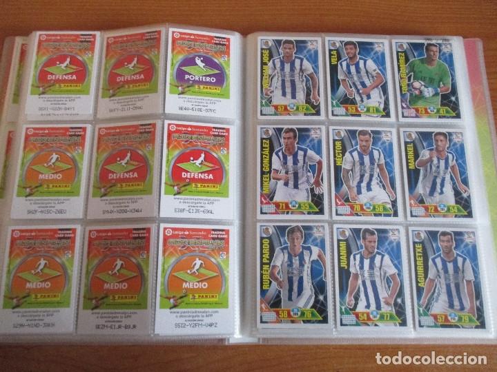 Coleccionismo deportivo: ALBUM DE CROMOS DE FUTBOL ADRENALYN XL TEMPORADA 2016/17 (BASTANTE COMPLETO CON 575 CROMOS) - Foto 33 - 182855247