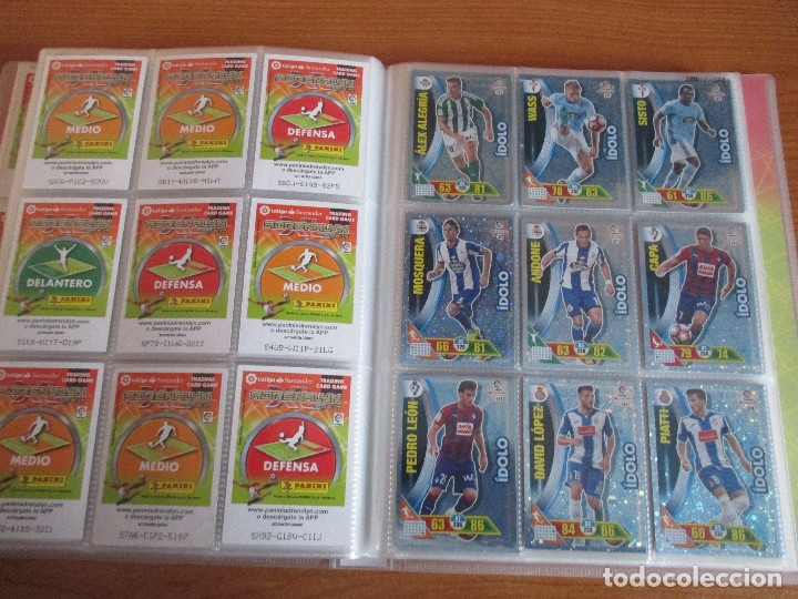 Coleccionismo deportivo: ALBUM DE CROMOS DE FUTBOL ADRENALYN XL TEMPORADA 2016/17 (BASTANTE COMPLETO CON 575 CROMOS) - Foto 43 - 182855247