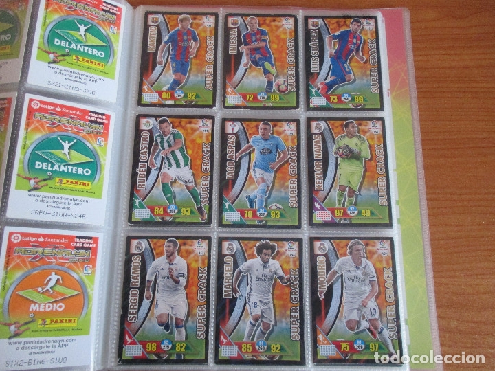 Coleccionismo deportivo: ALBUM DE CROMOS DE FUTBOL ADRENALYN XL TEMPORADA 2016/17 (BASTANTE COMPLETO CON 575 CROMOS) - Foto 51 - 182855247