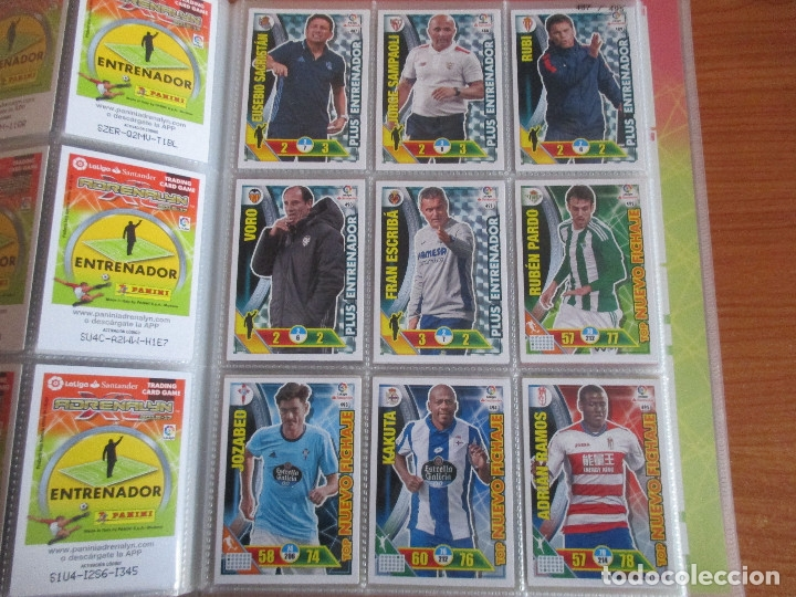 Coleccionismo deportivo: ALBUM DE CROMOS DE FUTBOL ADRENALYN XL TEMPORADA 2016/17 (BASTANTE COMPLETO CON 575 CROMOS) - Foto 55 - 182855247