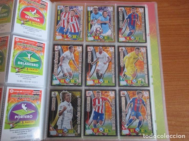Coleccionismo deportivo: ALBUM DE CROMOS DE FUTBOL ADRENALYN XL TEMPORADA 2016/17 (BASTANTE COMPLETO CON 575 CROMOS) - Foto 58 - 182855247