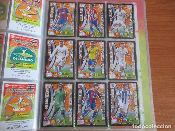 Coleccionismo deportivo: ALBUM DE CROMOS DE FUTBOL ADRENALYN XL TEMPORADA 2016/17 (BASTANTE COMPLETO CON 575 CROMOS) - Foto 59 - 182855247