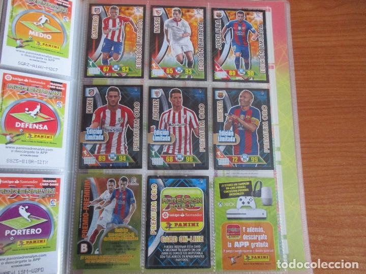 Coleccionismo deportivo: ALBUM DE CROMOS DE FUTBOL ADRENALYN XL TEMPORADA 2016/17 (BASTANTE COMPLETO CON 575 CROMOS) - Foto 60 - 182855247