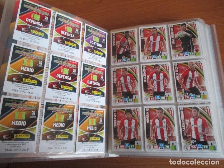 Coleccionismo deportivo: ALBUM DE CROMOS DE FUTBOL ADRENALYN XL TEMPORADA 2015/16 (BASTANTE COMPLETO CON 544 CROMOS) - Foto 4 - 182855422