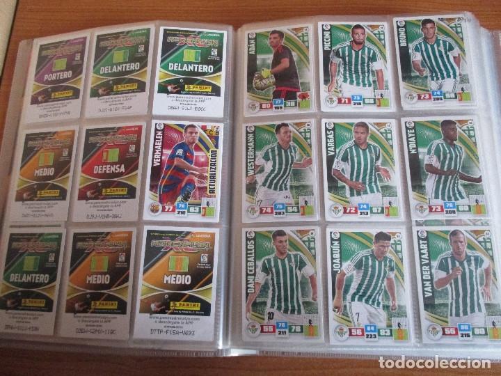 Coleccionismo deportivo: ALBUM DE CROMOS DE FUTBOL ADRENALYN XL TEMPORADA 2015/16 (BASTANTE COMPLETO CON 544 CROMOS) - Foto 9 - 182855422