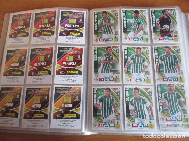 Coleccionismo deportivo: ALBUM DE CROMOS DE FUTBOL ADRENALYN XL TEMPORADA 2015/16 (BASTANTE COMPLETO CON 544 CROMOS) - Foto 10 - 182855422