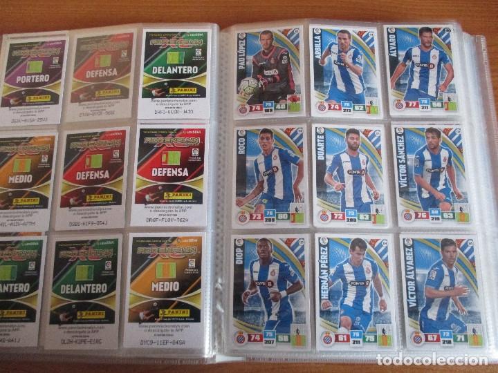 Coleccionismo deportivo: ALBUM DE CROMOS DE FUTBOL ADRENALYN XL TEMPORADA 2015/16 (BASTANTE COMPLETO CON 544 CROMOS) - Foto 17 - 182855422
