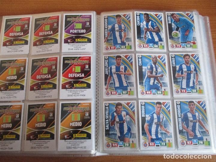 Coleccionismo deportivo: ALBUM DE CROMOS DE FUTBOL ADRENALYN XL TEMPORADA 2015/16 (BASTANTE COMPLETO CON 544 CROMOS) - Foto 18 - 182855422