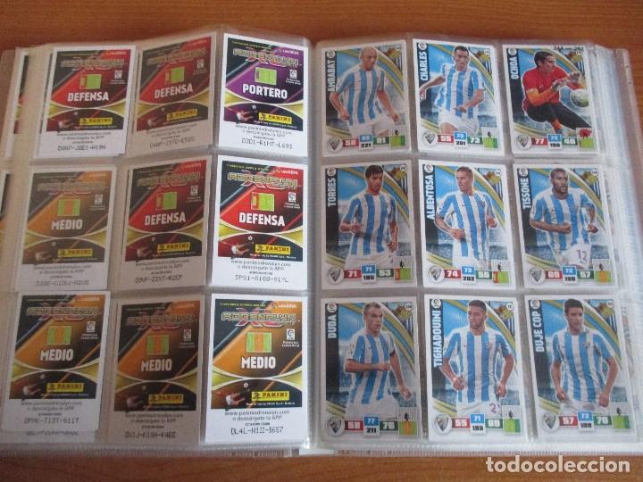 Coleccionismo deportivo: ALBUM DE CROMOS DE FUTBOL ADRENALYN XL TEMPORADA 2015/16 (BASTANTE COMPLETO CON 544 CROMOS) - Foto 30 - 182855422