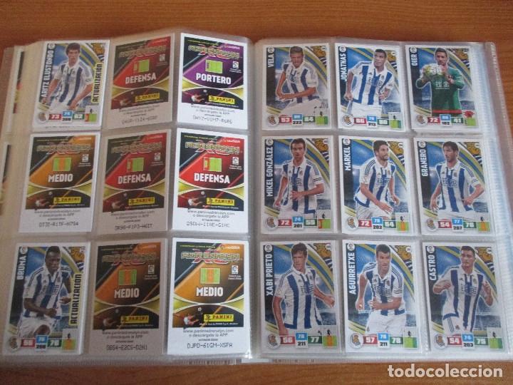 Coleccionismo deportivo: ALBUM DE CROMOS DE FUTBOL ADRENALYN XL TEMPORADA 2015/16 (BASTANTE COMPLETO CON 544 CROMOS) - Foto 34 - 182855422