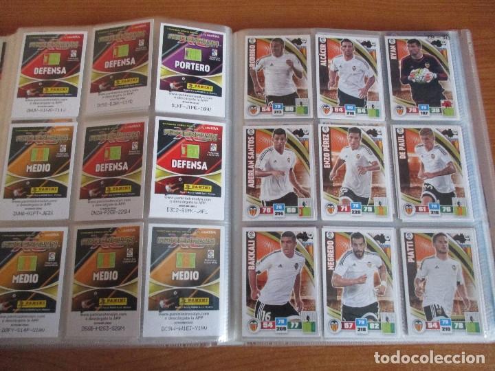 Coleccionismo deportivo: ALBUM DE CROMOS DE FUTBOL ADRENALYN XL TEMPORADA 2015/16 (BASTANTE COMPLETO CON 544 CROMOS) - Foto 40 - 182855422