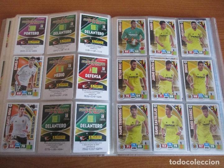 Coleccionismo deportivo: ALBUM DE CROMOS DE FUTBOL ADRENALYN XL TEMPORADA 2015/16 (BASTANTE COMPLETO CON 544 CROMOS) - Foto 41 - 182855422
