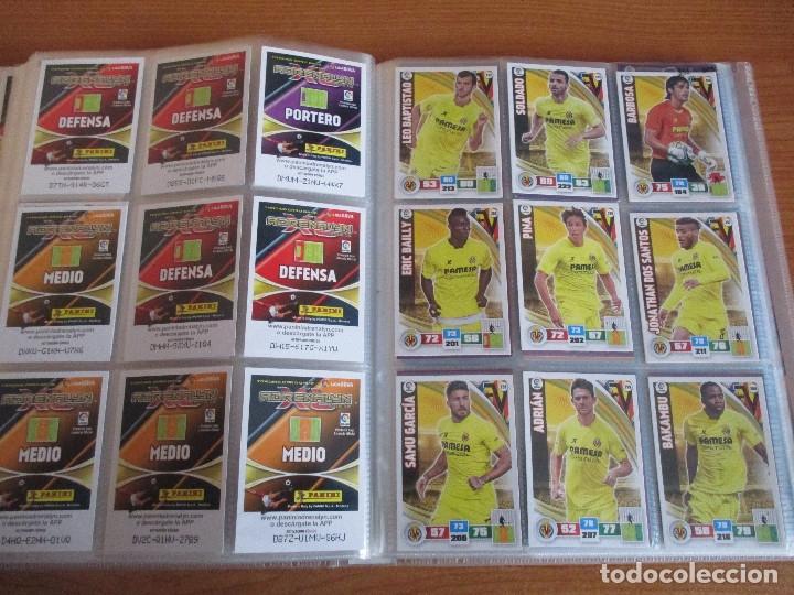 Coleccionismo deportivo: ALBUM DE CROMOS DE FUTBOL ADRENALYN XL TEMPORADA 2015/16 (BASTANTE COMPLETO CON 544 CROMOS) - Foto 42 - 182855422