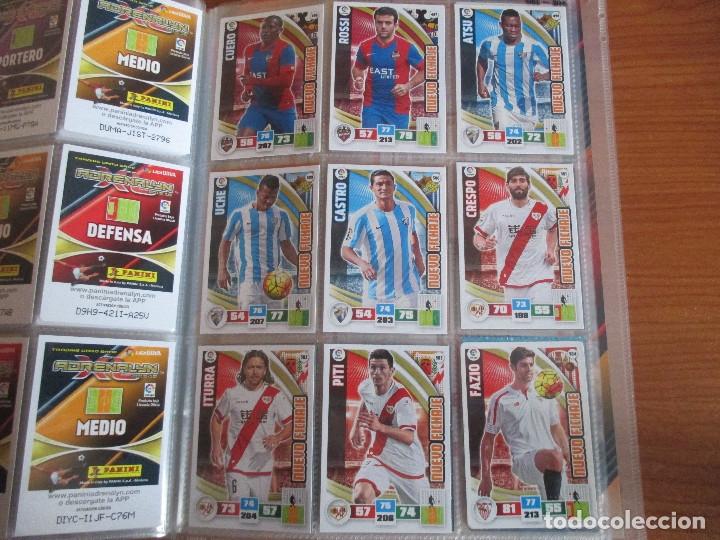 Coleccionismo deportivo: ALBUM DE CROMOS DE FUTBOL ADRENALYN XL TEMPORADA 2015/16 (BASTANTE COMPLETO CON 544 CROMOS) - Foto 58 - 182855422