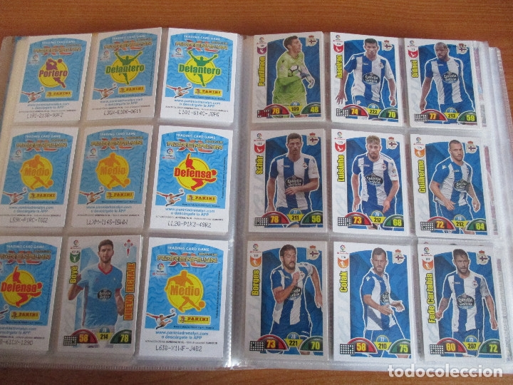 Coleccionismo deportivo: ALBUM DE CROMOS DE FUTBOL ADRENALYN XL TEMPORADA 2017/18 (BASTANTE COMPLETO CON 568 CROMOS) - Foto 14 - 182855538