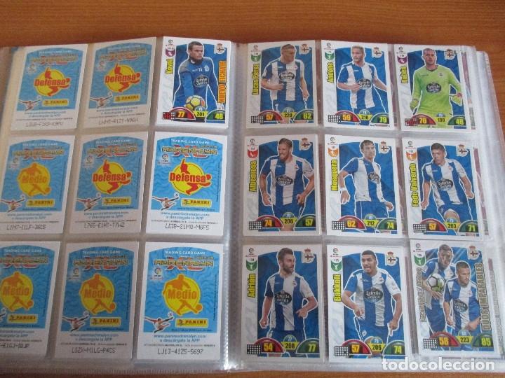 Coleccionismo deportivo: ALBUM DE CROMOS DE FUTBOL ADRENALYN XL TEMPORADA 2017/18 (BASTANTE COMPLETO CON 568 CROMOS) - Foto 15 - 182855538
