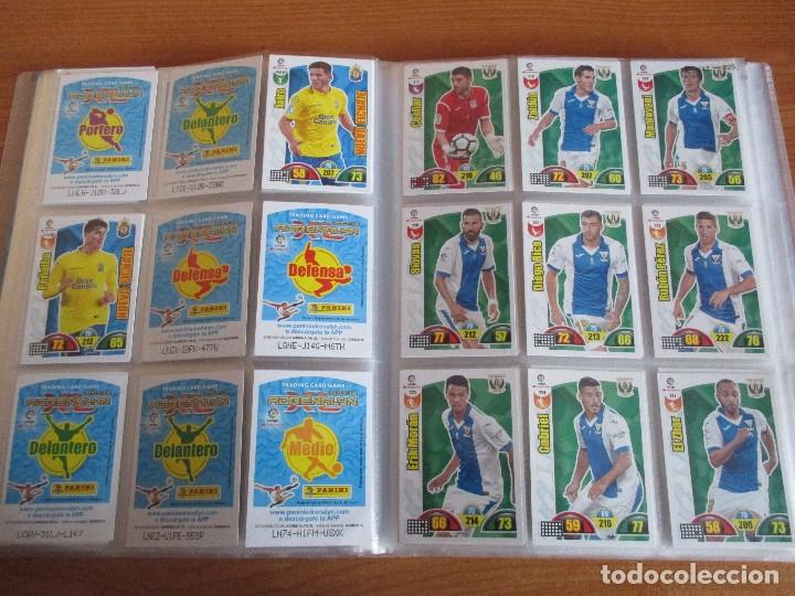 Coleccionismo deportivo: ALBUM DE CROMOS DE FUTBOL ADRENALYN XL TEMPORADA 2017/18 (BASTANTE COMPLETO CON 568 CROMOS) - Foto 26 - 182855538