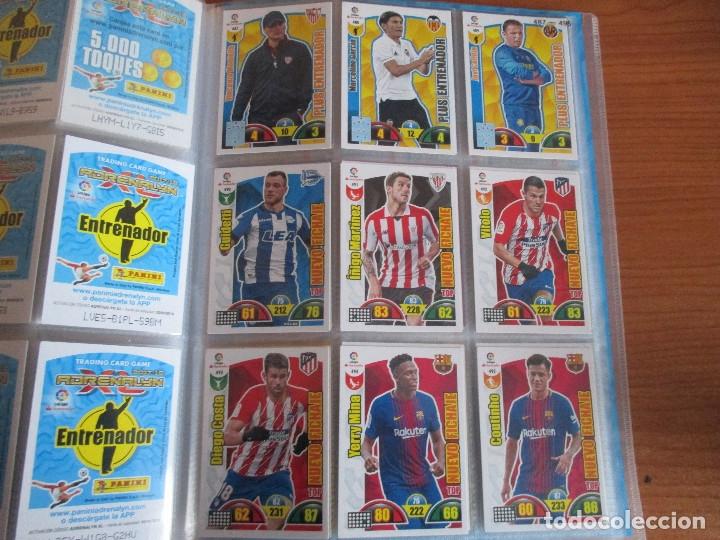 Coleccionismo deportivo: ALBUM DE CROMOS DE FUTBOL ADRENALYN XL TEMPORADA 2017/18 (BASTANTE COMPLETO CON 568 CROMOS) - Foto 56 - 182855538