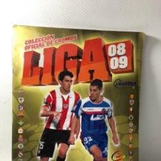 Coleccionismo deportivo: LIGA 08 09 ··· CAMPEONATO NACIONAL DE LIGA 2008 2009 ···251 CROMOS ··· INCOMPLETO ···. Lote 182995706