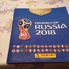 Coleccionismo deportivo: ALBUM INCOMPLETO FIFA WORLD CUP RUSSIA RUSIA 2018 ALBUM 534 CROMO PEGADO. Lote 183443863