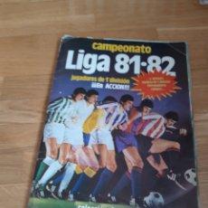 Coleccionismo deportivo: ÁLBUM 81 82 1981 1982. Lote 183463582