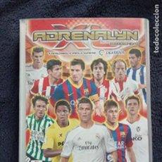 Coleccionismo deportivo: ALBUM ADRENALYN 2013-14 2013-2014 CON 524 CROMOS.. Lote 183595792