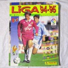 Coleccionismo deportivo: ÁLBUM DE CROMOS DE FUTBOL LIGA 94-95. FALTAN 54, VER FOTOS ADICIONALES. Lote 183600556