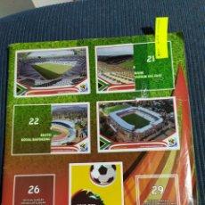 Coleccionismo deportivo: ALBUM SOUTH AFRICA SIN TAPAS 458 CROMOS. Lote 183607382
