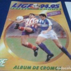 Coleccionismo deportivo: ALBUM DE CROMOS EDICIONES ESTE LIGA 94 . 95 ( 251 CROMOS - 33 DE ELLOS FICHAJES ) . Lote 183629702