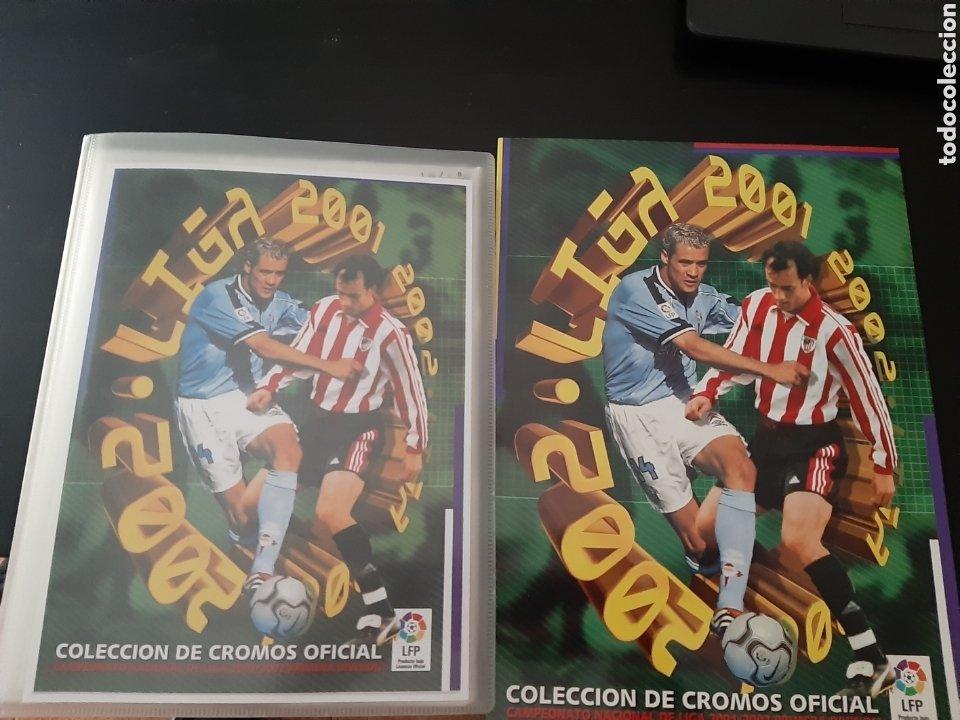 EDICIONES ESTE 2001 2002 ÁLBUM PLANCHA VACIO ALBUN 01 02 NUEVO (Coleccionismo Deportivo - Álbumes y Cromos de Deportes - Álbumes de Fútbol Incompletos)