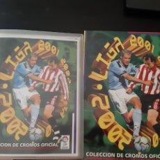 Coleccionismo deportivo: EDICIONES ESTE 2001 2002 ÁLBUM PLANCHA VACIO ALBUN 01 02 NUEVO. Lote 183645193