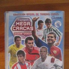Coleccionismo deportivo: MEGA CRACKS 2008-2009 ÁLBUM INCOMPLETO - PANINI MEGACRACKS 371 CARDS CROMOS. Lote 183662547