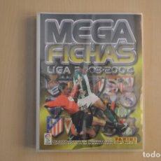 Coleccionismo deportivo: PANINI MEGAFICHAS LIGA 2003-2004 - ALBUM VACIO Y NUEVO . Lote 183672455