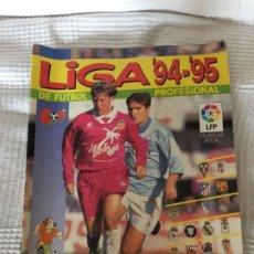 Coleccionismo deportivo: ALBUM DE CROMOS DE FUTBOL LIGA 94-95. Lote 183744400