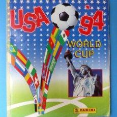 Coleccionismo deportivo: ALBUM CROMOS - USA 94 WORLD CUP - PANINI - VER DESCRIPCION Y FOTOS. Lote 183826863