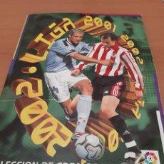 Coleccionismo deportivo: ESTE 2001-02 ÁLBUM MUY COMPLETO CON MUCHOS FICHAJES (VER FOTOS). Lote 194298445
