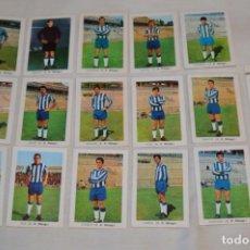Coleccionismo deportivo: C.D. MÁLAGA - 16 CROMOS - LIGA 70-71 - CAMPEONATO DE LIGA 1970 / 1971 - FHER / DISGRA ¡BUEN ESTADO!. Lote 184610886