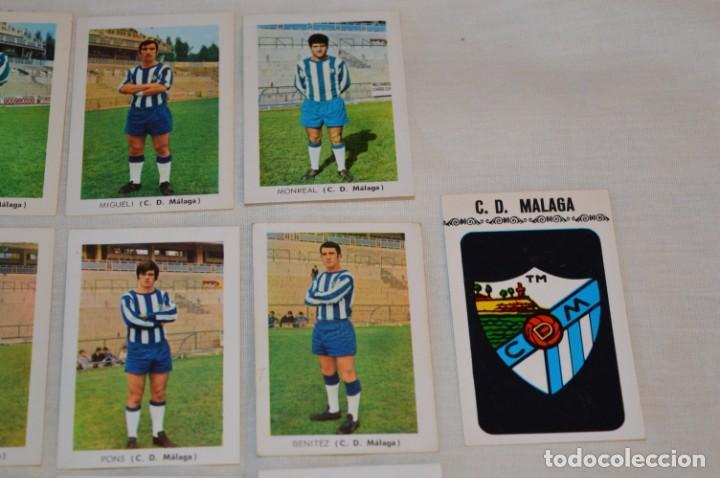 Coleccionismo deportivo: C.D. MÁLAGA - 16 CROMOS - LIGA 70-71 - CAMPEONATO de LIGA 1970 / 1971 - FHER / DISGRA ¡Buen estado! - Foto 3 - 184610886