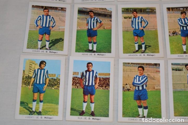 Coleccionismo deportivo: C.D. MÁLAGA - 16 CROMOS - LIGA 70-71 - CAMPEONATO de LIGA 1970 / 1971 - FHER / DISGRA ¡Buen estado! - Foto 4 - 184610886