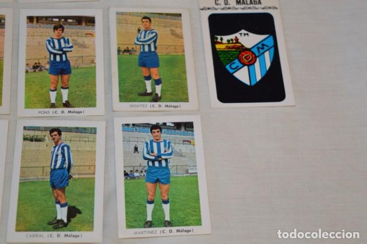 Coleccionismo deportivo: C.D. MÁLAGA - 16 CROMOS - LIGA 70-71 - CAMPEONATO de LIGA 1970 / 1971 - FHER / DISGRA ¡Buen estado! - Foto 5 - 184610886