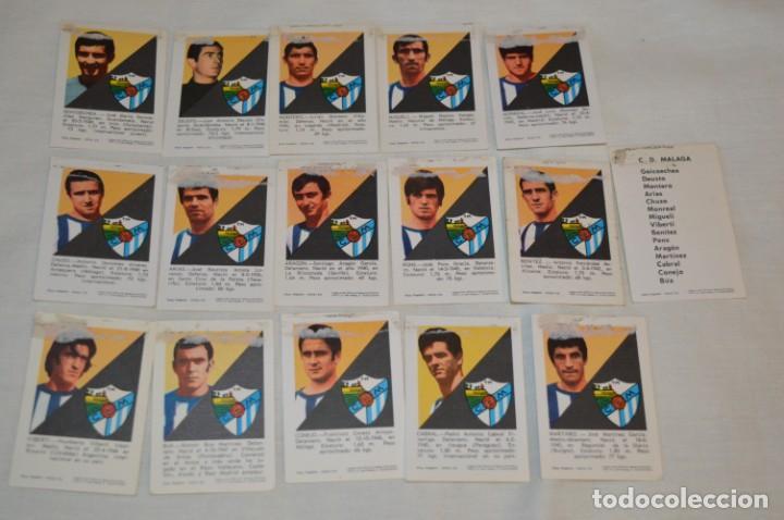 Coleccionismo deportivo: C.D. MÁLAGA - 16 CROMOS - LIGA 70-71 - CAMPEONATO de LIGA 1970 / 1971 - FHER / DISGRA ¡Buen estado! - Foto 6 - 184610886