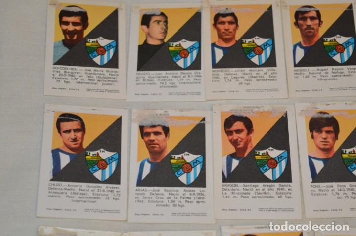 Coleccionismo deportivo: C.D. MÁLAGA - 16 CROMOS - LIGA 70-71 - CAMPEONATO de LIGA 1970 / 1971 - FHER / DISGRA ¡Buen estado! - Foto 7 - 184610886
