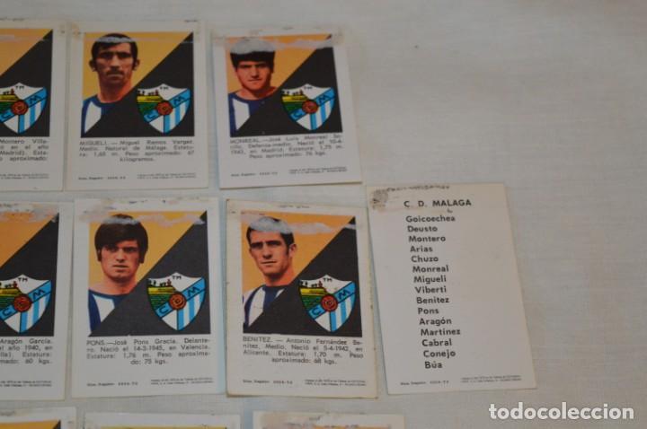 Coleccionismo deportivo: C.D. MÁLAGA - 16 CROMOS - LIGA 70-71 - CAMPEONATO de LIGA 1970 / 1971 - FHER / DISGRA ¡Buen estado! - Foto 8 - 184610886