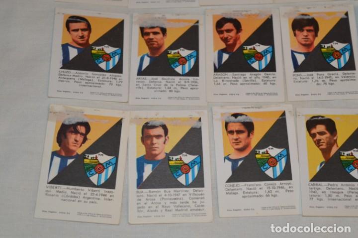 Coleccionismo deportivo: C.D. MÁLAGA - 16 CROMOS - LIGA 70-71 - CAMPEONATO de LIGA 1970 / 1971 - FHER / DISGRA ¡Buen estado! - Foto 9 - 184610886