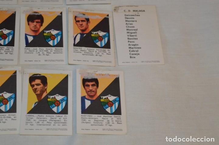 Coleccionismo deportivo: C.D. MÁLAGA - 16 CROMOS - LIGA 70-71 - CAMPEONATO de LIGA 1970 / 1971 - FHER / DISGRA ¡Buen estado! - Foto 10 - 184610886
