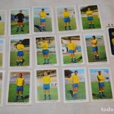Coleccionismo deportivo: UD LAS PALMAS -16 CROMOS - LIGA 70-71 - CAMPEONATO DE LIGA 1970 / 1971 - FHER / DISGRA ¡BUEN ESTADO!. Lote 184613701